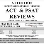 ACT Reviews will resume Monday after break.   #PurpleSmart #CrushtheACT @BGHSPurplesNews http://t.co/GmLF4mRf23