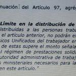 Esto es lo que pretenden pasar como legal, como solidario.  #NoAlTechoEnUtilidades Basta ya!  Son dineros privados. http://t.co/dE772tbBbg