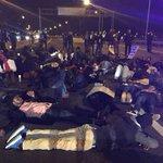 "I-24 shut down in #Nashville, protestors chanting ""SHUT IT DOWN FOR MIKE BROWN!"" #FergusonDecision http://t.co/rD2JgReu9A"