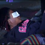 Woman pepper sprayed during violent protest in downtown Atlanta. Live coverage-->>> http://t.co/cmxwhJvtNK http://t.co/BJytxwnt9U