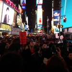 BREAKING: Protesters in New York City shut down Times Square. #ShutItDown #Ferguson http://t.co/ceDQJKAmZN