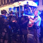 GA State Patrol suited up in riot gear outside Hard Rock. #atlferguson http://t.co/9hj9SXNIav