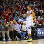 VIDEO: Steph Curry (40 pts) went into God mode, using nasty moves to get open for his 8 threes http://t.co/vupG59rSsm http://t.co/KhVbDlXLo6