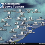 Going to be chilly in #Houston Wednesday morning. Grab a coat! http://t.co/Pqur906my2