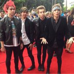 5SOS on the ARIAs Red Carpet (via arias IG ) http://t.co/hgZehA91Oh
