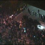#Ferguson protestors in LA have reached LAPD headquarters in downtown: http://t.co/2j7Il0DUXM http://t.co/uzay5CYDoS
