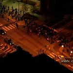 LIVE: Protesters back on the move heading down Marietta Street: http://t.co/HzYVXWF1ZE http://t.co/9OIbO45HHD