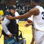 Hey, @WoffordMBB, see that smile on Jack Morris face? You did that. #conquerandprevail http://t.co/ydq3YhLnCZ
