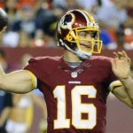 THIS JUST IN: Washington is planning to start Colt McCoy over RG3 on Sunday (via @AdamSchefter) http://t.co/q5H9oulU1E