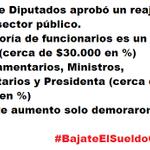 Un día se demoraron....   Reajuste es poco para la mayoría y mucho para los pocos de siempre #BajateElSueldoCareRaja http://t.co/bR8bx1soPH