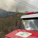 #Incendio consumió 20 hectáreas de Cerro Azul en #Guayaquil. Mira fotografías del hecho-> http://t.co/MF7MltfXpc http://t.co/dmorDmM7pB