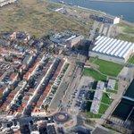 #Vlissingen contouren verlengde #AagjeDekenstraat steeds beter waarneembaar. Werkzaamheden op voormalig KSG-terrein http://t.co/ONyk4WI8ly