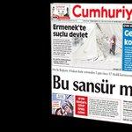 REDDEDİYORUZ... Cumhuriyet 17 Aralık yayın yasağı kararına uymayacak http://t.co/vQB0NyiLdx http://t.co/o5Ib7SAzRA