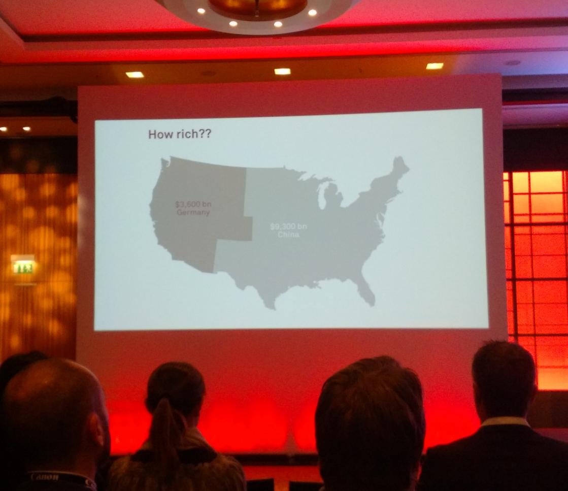 RT @jbenno: US economy visualized in relation to Germany and China.  @mccandelish #infoatwork http://t.co/b9vWkZxPDN