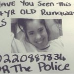 #HELP Jordyn Little has been missing since Sunday. Last spotted today in the Dawson/Otara area. RT. http://t.co/Bv3Wlxw6OZ
