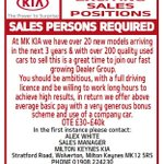 Job vacancies at our fast growing dealer group see advert for details #carsales #miltonkeynes @JobsMKG #vacanciesmk http://t.co/HK24J2iQej