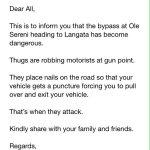Motorists Be Warned mɑҙ✓ http://t.co/iXfDO1wntM via @ThaDboi