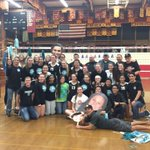 Lady Sharks BELIEVE!  Upset Torrey Pines in 5!  Mater Dei Saturday night. Come out and support!  #todayatshs http://t.co/mR7PfCaq01