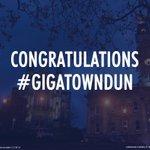 Congratulations Dunedin! #gigatowndun #gigatown http://t.co/Lsg2414xGX