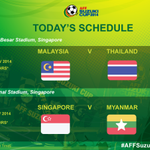 MATCH DAY! Can Thailand get the win they next to qualify for #AFFSuzukiCup SF? Can @FASingapore get their 1st points? http://t.co/EAVfW5vOKi