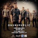RT @BigConcerts: BIG News: @OneRepublic confirm SA – Native World Tour dates in 2015. #1RSA http://t.co/psvLkAdJl6