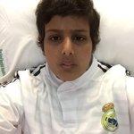 صباح الخير انا الحين بالمستشفى عندي موعد جرعه كيماوي بالوريد والنخاع الشوكي .. دعواتكم ❤️ #كلنا_عبود_التميمي http://t.co/FOL8HMe0WQ