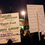 Some of the best signs from tonight #Mpls2Ferguson #ShutItDown #Ferguson #AkaiGurley #MikeBrown #TamirRice #FTP #ACAB http://t.co/23NEhD4Kvl
