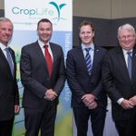 Great to have at ag leaders @NationalFarmers CEO @SimonTalbot__ & @richardmcolbeck at @CropLifeOZ forum yesterday. http://t.co/8wI3oc39GN