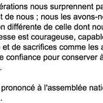 """""""Faire confiance à la jeunesse."""" La fin (trop oubliée) du discours de Simone Veil du 26 novembre 1974. Merci Madame http://t.co/Qg0u6sNocS"""