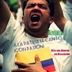¡Celebramos a uno de nuestros símbolos patrios! #Ecuador #DíaDelHimno #HimnoNacional http://t.co/659UzC5FDf