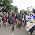Images of the goons who were hired to disrupt #OccupyHarambeeAve with 1 intent to harm me.Cops refused to arrest them http://t.co/aRCFBn8BvF