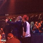 Now @5SOS complete the breakfast set as Kochie gets a selfie with them #ARIAs http://t.co/VFLVAYFGon