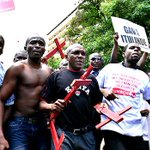 Confrontations mar protest over Mandera killings http://t.co/HbcsfimBo6 #OccupyHarambeeAve http://t.co/XCPCv4Ut6G