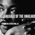 """@OccupyOakland: #Oakland #Ferguson ""A riot is the language of the unheard."" – Martin Luther King, Jr."" http://t.co/KFMfDKPDuu"