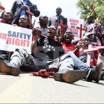 Protesters burn coffins outside Uhurus office http://t.co/3ZFftzQIOQ #OccupyHarambeeAve http://t.co/e9NxwOHydi