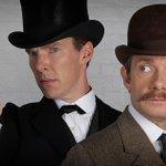 Ватсон, они лишили меня кудрей! Первое фото из спецвыпуска «Шерлока», который выйдет к Рождеству 2015-го http://t.co/jBYxoTt2lR