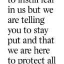 Kinyua telling scared Mandera residents to stay put. Before flying back to Nairobi. #Tumechoka http://t.co/L5GLywvs29