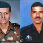COAS & all Ranks of Indian Army pay homage to our Heroes of 26/11, Maj S Unnikrishnan,AC(P) &Hav Gajender Singh,AC(P) http://t.co/ALwJ2e35NI