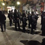 Protesters asking #LAPD what they should do? No response #Standoff #LosAngeles http://t.co/oN3L0L7qCw