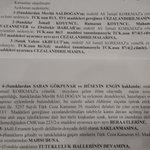 #AliİsmailKorkmaz davası savcısının mütalaası #AliİsmailİcinAdalet http://t.co/WrjI6UigRu