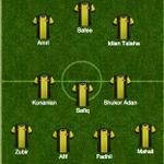 Start list: Malaysia #AFFSuzukiCup #MALvTHA http://t.co/8KX4ziU1Kg