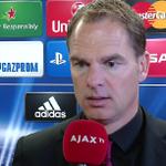 [VIDEO] De Boer: 'We hadden ons moeten kwalificeren.' http://t.co/AjXwI0ta5j #UCL #psgaja