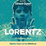 LORENTZ TILL UMEÅ OPEN FESTIVAL 2015! @losobaby #umeaopen #lorentz http://t.co/KwlNvddDt4