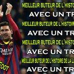 [#LDCLiveCamp] Messi bat les records toujours avec la manière ! via @InsoliteFoot http://t.co/86MPyUnvSL