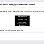 Unser Video über die #ecopop-Birkenstock-Rassisten hat #facebook zensuriert https://t.co/KZZedYasox http://t.co/v0XlVHItlz