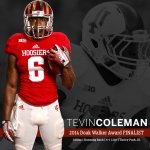 ICYMI: Tevin Coleman is one of three finalists for the Doak Walker Award! http://t.co/8cPHh4SLf7 http://t.co/TRK6P8Lnwo