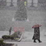 The rain has just turned to #snow in Harrisburg . @PennLive http://t.co/6L8CRCx5Z2
