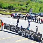 #ParoDocente en Lonquimay. Profesores de Lonquimay se toman accesos a la ciudad. http://t.co/66MFdP76Ng