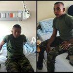 Tras 19 días de secuestro, terminó pesadilla de soldados Díaz y Rivera http://t.co/mzW8y4FEbR http://t.co/lEWPKIFiI7