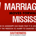 ICYMI: A federal judge struck down #Mississippis marriage ban last night! http://t.co/ieyEtHcHhR http://t.co/lWqLPC8BEk